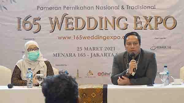 165 Wedding Expo 2021 Siap Digelar dengan Penerapan Prokes Ketat