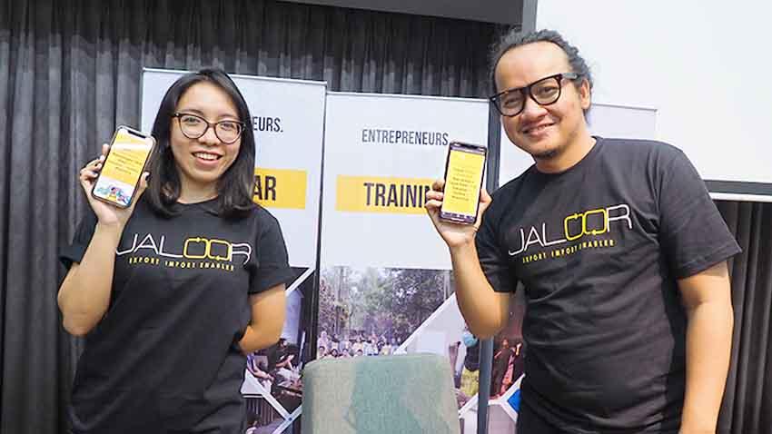 Jaloor.com, Mudahkan Brand Lokal Tembus Pasar Global Lewat Crowdshipping