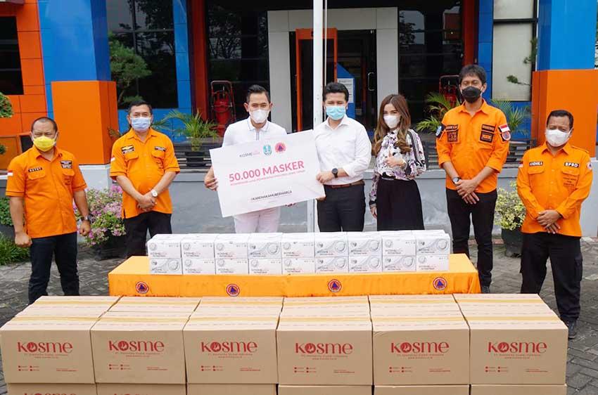 Kampanyekan #KarenaKamuBerharga, KosmeMask Bagikan 50 Ribu Masker
