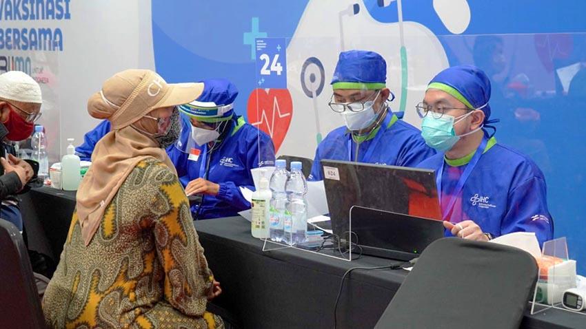 Dukung Program Vaksinasi Nasional, Pegadaian Berikan Vaksin Untuk Lansia