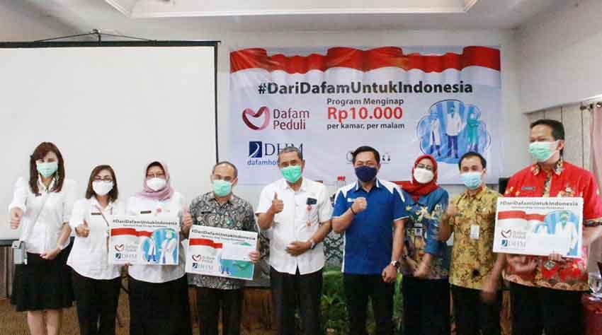 DHM Fasilitasi Tenaga Kesehatan dengan Menginap Hanya Rp10.000