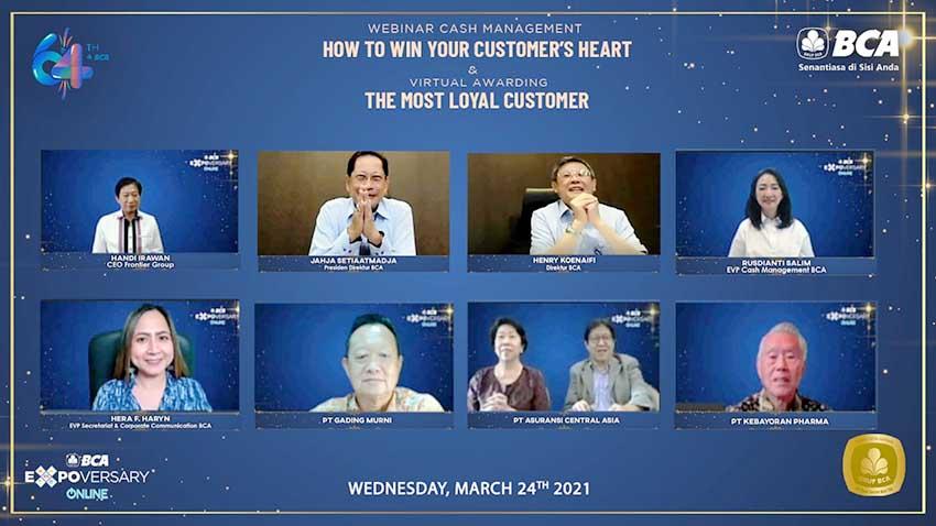"""BCA Gelar Virtual Award """"The Most Loyal Customer BCA"""""""