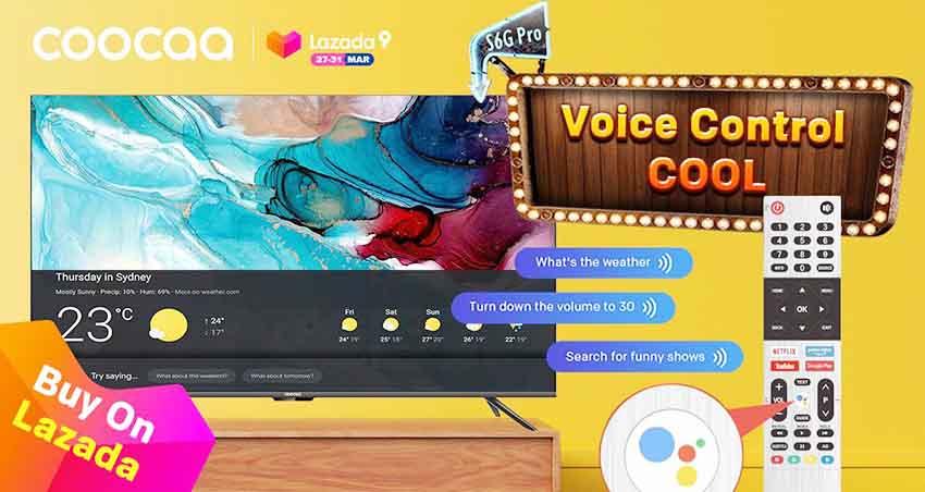 Luncurkan Smart TV S6G Pro, coocaa Ramaikan Lazada Super Party Ke-9