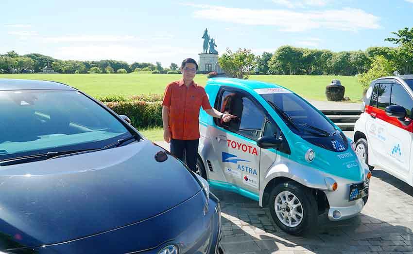 Berkontribusi dalam Pelestarian Lingkungan, MSIG Indonesia Dukung Toyota EV Smart Mobility Project