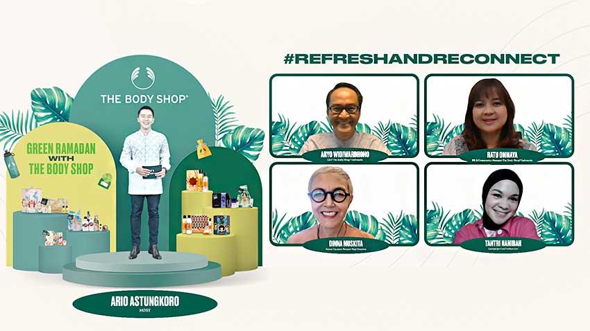 Kampanyekan Green Ramadan, The Body Shop Tabur Kebaikan di Bulan Ramadan