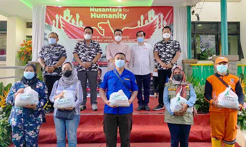 Wagub Jakarta Apresiasi Kegiatan Sosial Nusantara For Humanity dari BAPERA