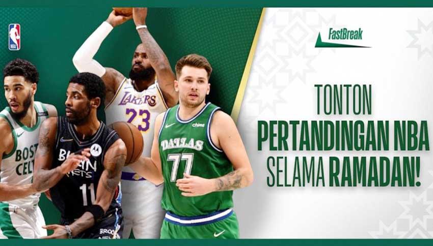 Kampanyekan #NBAFastBreak, NBA Meriahkan Bulan Suci untuk Penggemar Tanah Air