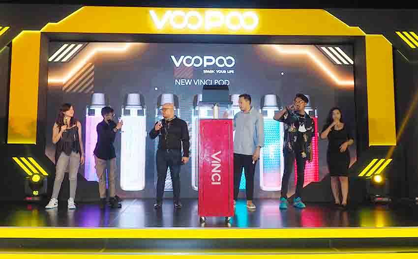 Voopoo Merilis Vinci Pod dengan Teknologi Penguapan ITO Terbaru