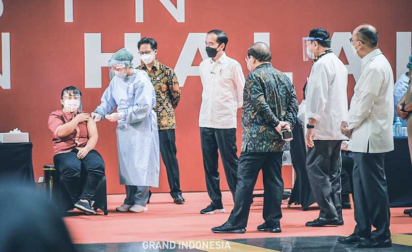 Dukung Program Pemerintah, Grand Indonesia Fasilitasi Vaksinasi untuk Pelaku Usaha