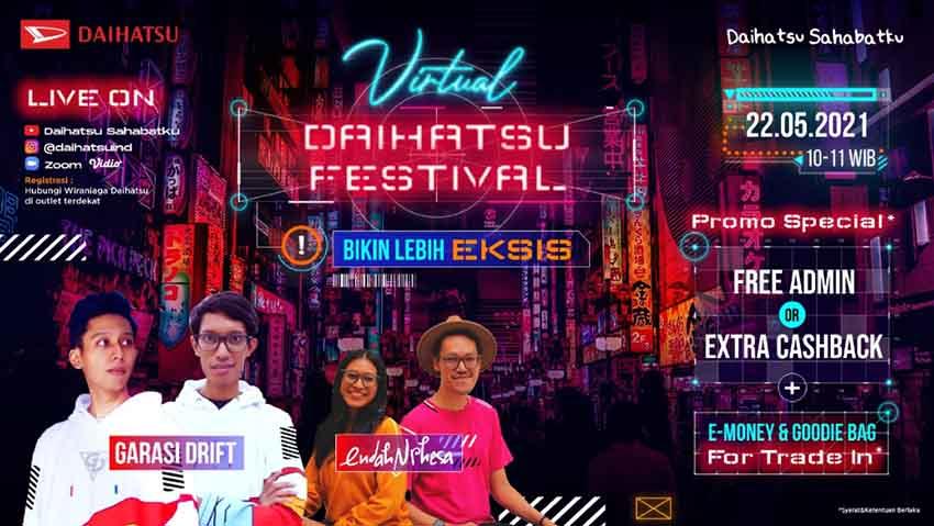 Virtual Daihatsu Festival Hadir Lagi