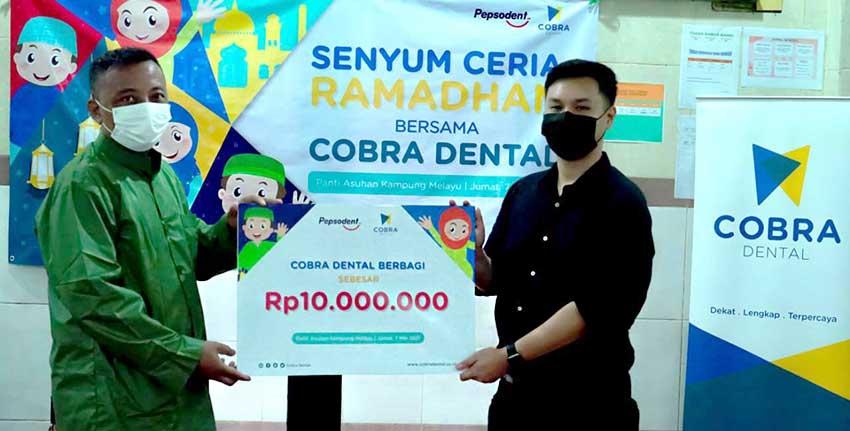 Peduli Kesehatan Gigi dan Mulut Anak Indonesia, Cobra Dental Gelar Bakti Sosial