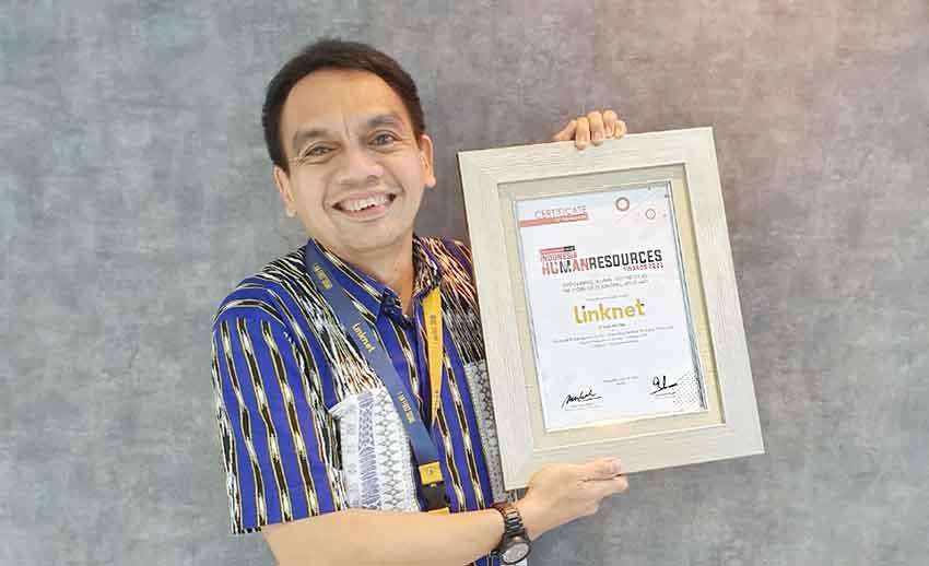 Link Net Raih Penghargaan Indonesia Human Resources Awards 2021