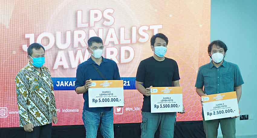LPS Apresiasi Awak Media Lewat Jurnalis Award 2021