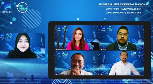 Jember Makin Cakap Digital dengan Literasi Digital