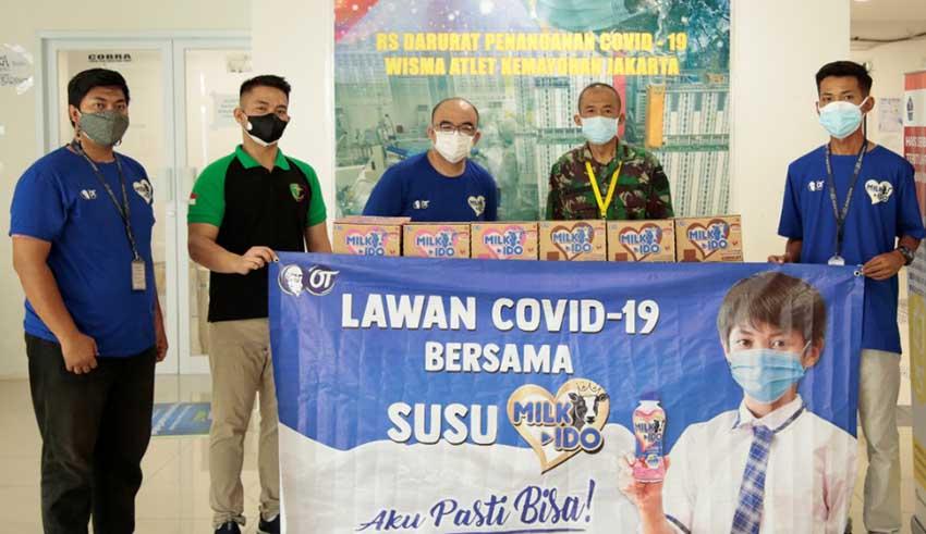 Luncurkan Susu Milk-Ido OT Group Sumbang 5000 Paket Susu