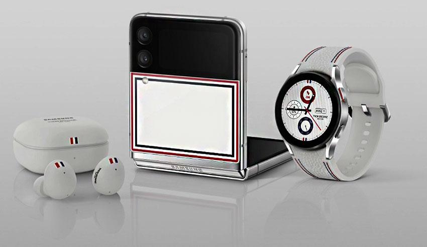 Edisi Thom Browne Galaxy Z Fold3 Flip3 5G Dirilis di Indonesia