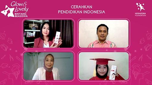 Glow & Lovely Bintang Beasiswa 2021 Dukung Perempuan Muda Indonesia Lanjutkan Pendidikan Tinggi di Tengah Pandemi