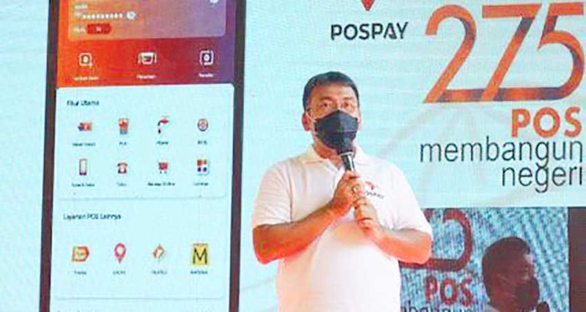 HUT ke-275 Tahun, Pos Indonesia Perkenalkan Pospay Giropos Digital Channel