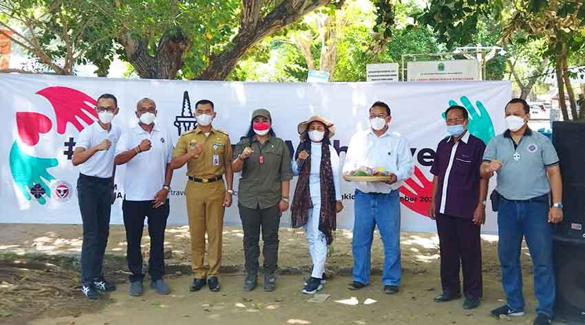 PHRI, IHGM, H3Y Salurkan Bantuan Kepada Pelaku Pariwisata di Gunungkidul