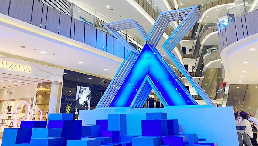 Annivesary ke-15, Senayan City Hadirkan Iconic XV Installation