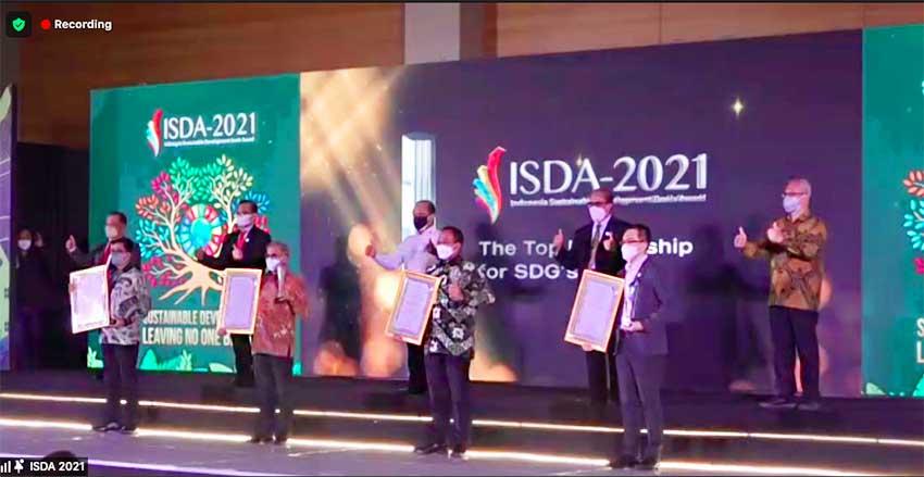Atasi Masalah SDGs, Chandra Asri Raih Jamak Penghargaan ISDA 2021