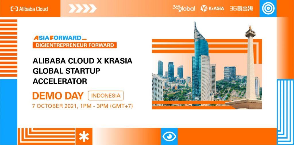 Alibaba Cloud x KRASIA Global Startup Accelerator Buka Pendaftaran Untuk Startup di Indonesia